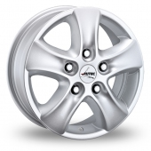 Autec Talos Silver Alloy Wheels