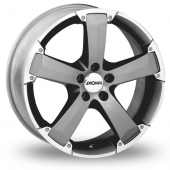 Ronal R47 Anthracite Polished Alloy Wheels