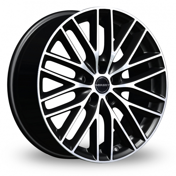 "Picture of 16"" Borbet BS5 Black"