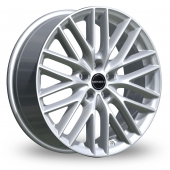 Borbet BS5 Silver Alloy Wheels