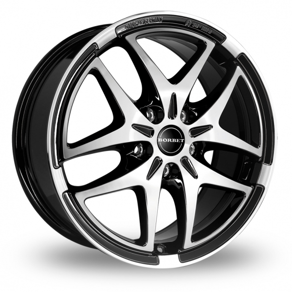 "Picture of 17"" Borbet XB Black"