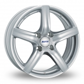 Alutec Grip Silver Alloy Wheels
