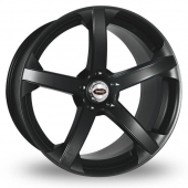 Team Dynamics Jade R Smooth Black Alloy Wheels