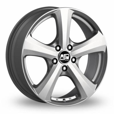 16 Inch MSW (by OZ) 19 Silver Alloy Wheels