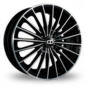 OZ Racing 35th Anniversary Black Polished Alloy Wheels