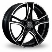 OZ Racing Adrenalina Black Polished Alloy Wheels