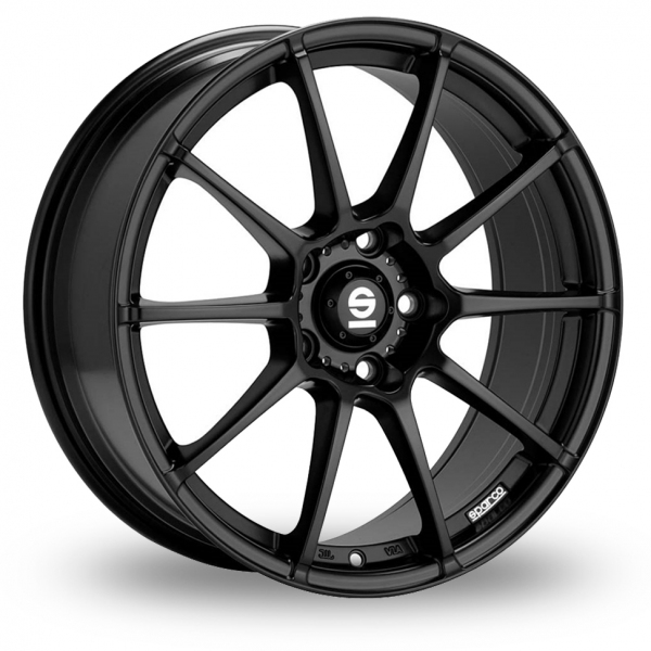 "Picture of 15"" Sparco Assetto Gara Matt Black"