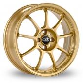 OZ Racing Alleggerita HLT Gold Alloy Wheels