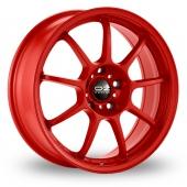 OZ Racing Alleggerita HLT Red Alloy Wheels