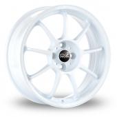OZ Racing Alleggerita HLT White Alloy Wheels