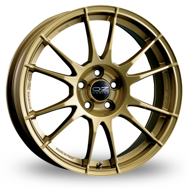 "Picture of 17"" OZ Racing Ultraleggera Gold"