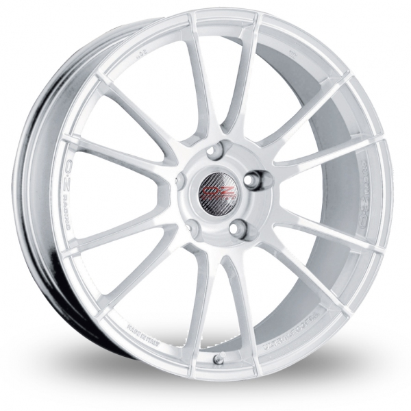oz racing ultraleggera white 17 alloy wheels wheelbase. Black Bedroom Furniture Sets. Home Design Ideas