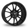 19 Inch OZ Racing Ultraleggera HLT Matt Black Alloy Wheels