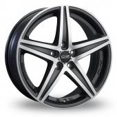 OZ Racing Energy Black Polished Alloy Wheels