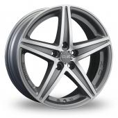 OZ Racing Energy Silver Polished Alloy Wheels
