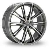 OZ Racing Envy Silver Polished Alloy Wheels