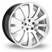 Hawke Individual ID One Silver Alloy Wheels