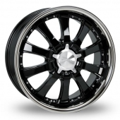 Zito Derosa Black Polished Alloy Wheels