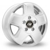 CW by Borbet CG Silver Alloy Wheels