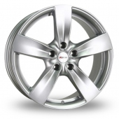Xtreme X70 Silver Alloy Wheels