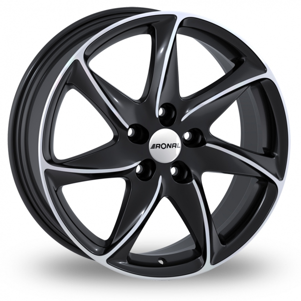 "Picture of 15"" Ronal R51 Black"
