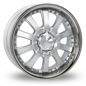 Zito Derosa Silver Alloy Wheels