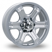 Zito Mace Silver Alloy Wheels