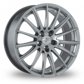 Fondmetal 7800 Silver Alloy Wheels