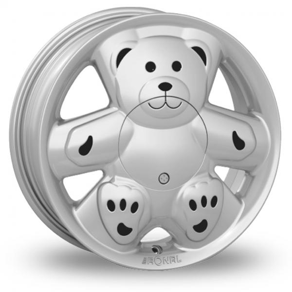14 Inch Ronal URS Teddy Silver Alloy Wheels