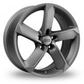 Fondmetal 7900 MATEK Silver Alloy Wheels