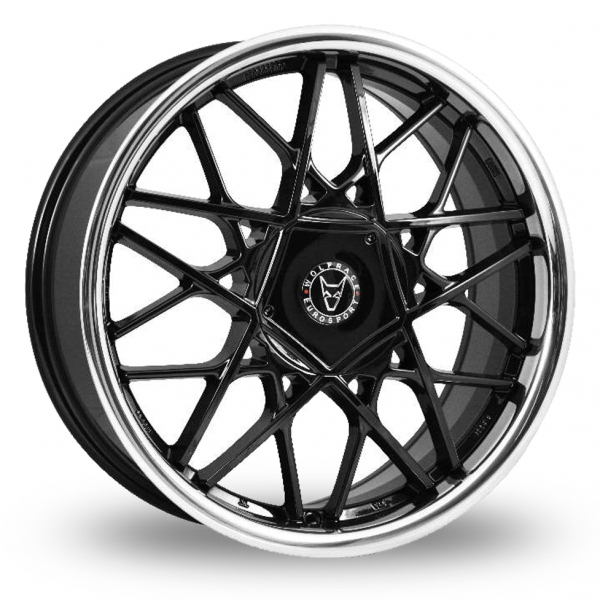 "Picture of 17"" Wolfrace Blitz Black"