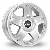 CW by Borbet CWB Silver Alloy Wheels