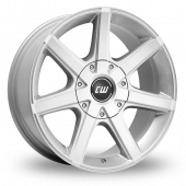 CW by Borbet CWE Silver Alloy Wheels