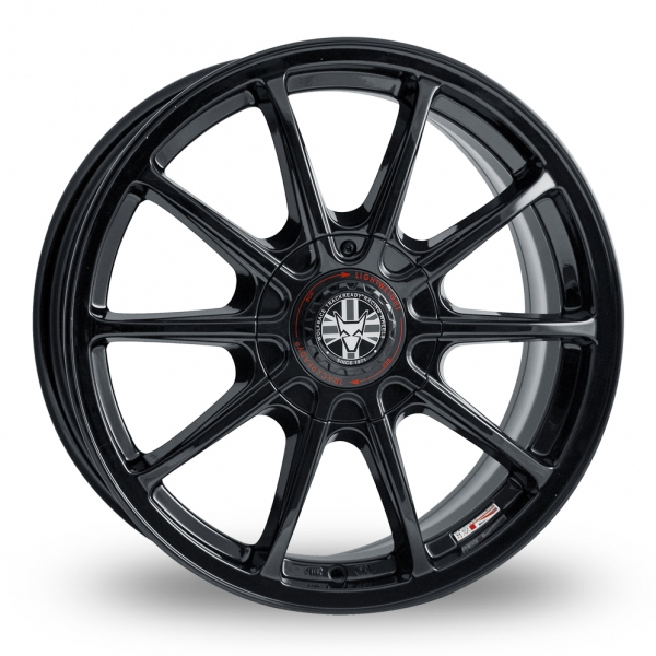 "Picture of 17"" Wolfrace Pro-Lite eco 2.0 Black Wider Rear"