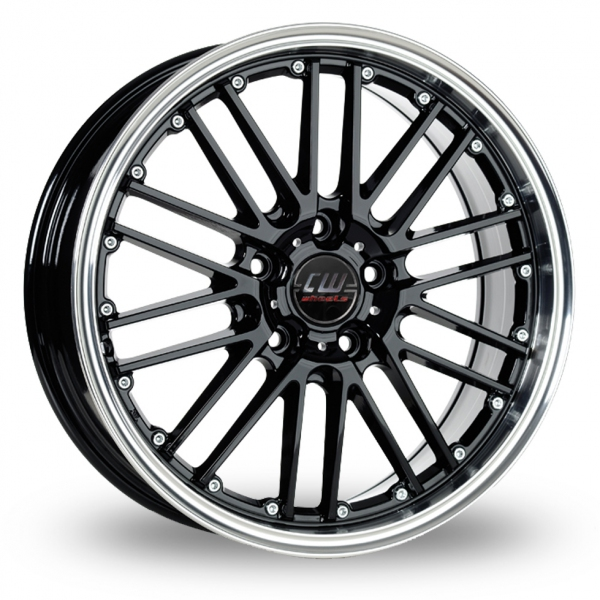 "Picture of 17"" Borbet CW2 Black"