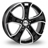 Zito Blazer Black Polished Alloy Wheels