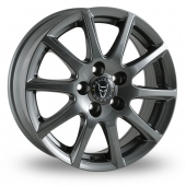MILANO TITANIUM Alloy Wheels