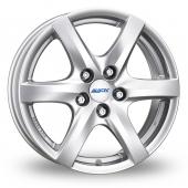 Alutec Blizzard Silver Alloy Wheels