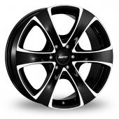 Alutec Dynamite 6 EU Black Polished Alloy Wheels