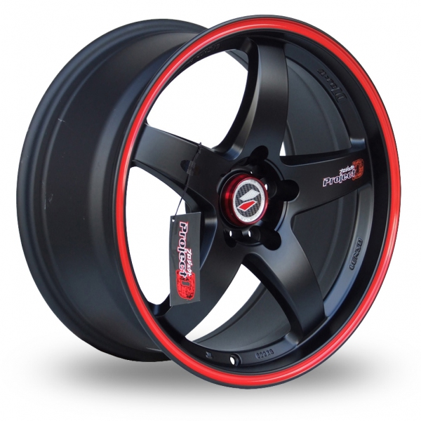 "Picture of 15"" Lenso D1R Black/Red"