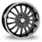 Team Dynamics Equinox II Anthracite Alloy Wheels
