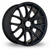 Dare River NK 1 5x120 Wider Rear Matt Black Alloy Wheels