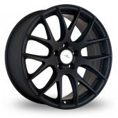 Dare River NK 1 Matt Black Alloy Wheels