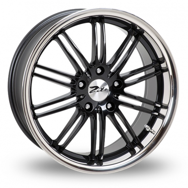 "Picture of 18"" Zito Belair Black Wider Rear"