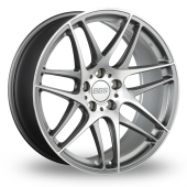 BBS CX-R 5x120 Wider Rear Anthracite Polished Alloy Wheels