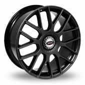 Team Dynamics Imola Black Alloy Wheels
