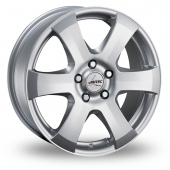 Autec Baltic Silver Alloy Wheels