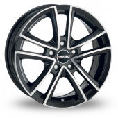 Autec Yucon Black Polished Alloy Wheels