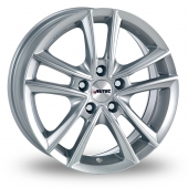 Autec Yucon Silver Alloy Wheels