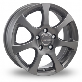Autec Zenit Grey Alloy Wheels